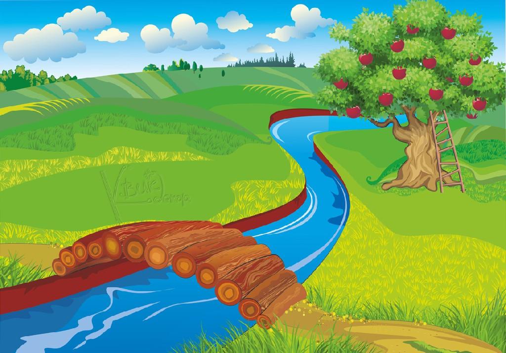 сшить клипарт очистка реки рисованная русские один самых